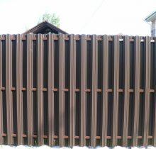 Металлический штакетник для забора, размеры и виды металлического материала для забора