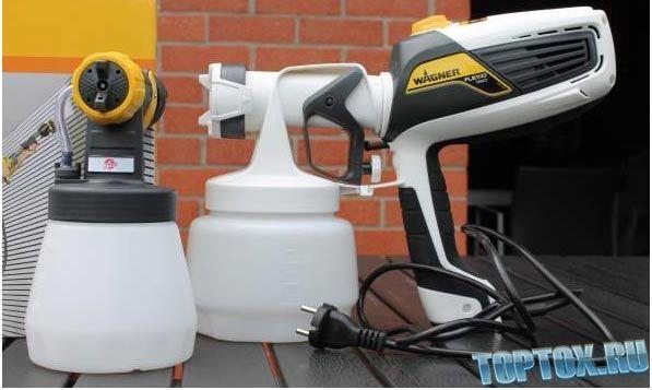 Электрический краскопульт: описание оборудования, какой краскораспылитель лучше выбрать для дома