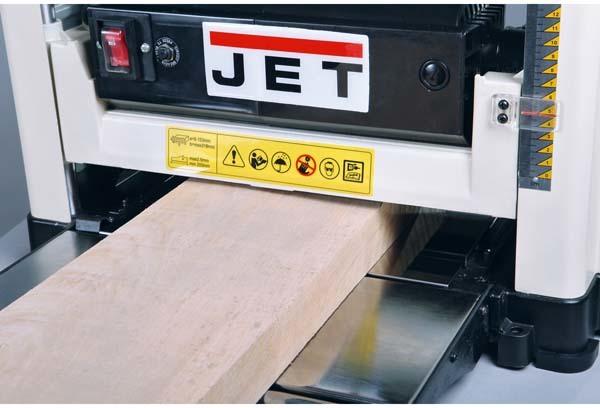 Как происходит работа на рейсмусовом станке jet jwp 12, технические характеристики рейсмуса джет