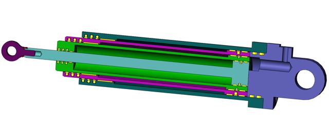 Гидравлический цилиндр: конструкция и виды, изготовители и вспомогательное оснащение