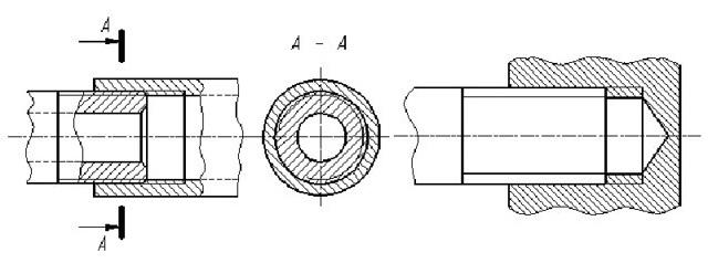 Отверстие под резьбу: диаметр, классификация видов, таблица размеров