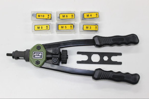 Особенности работы с заклепочником для резьбовых заклепок: виды заклепок и их установка