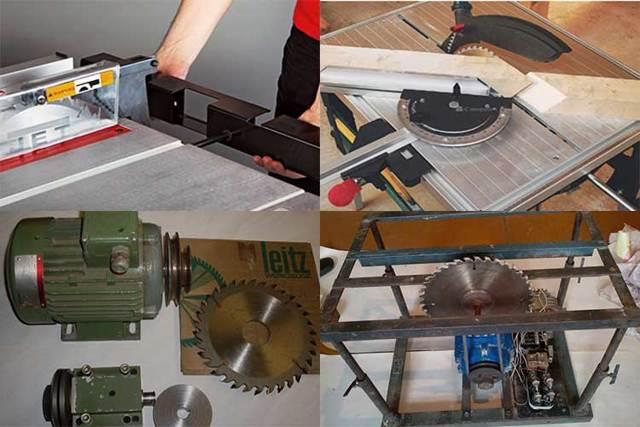 Как сделать пилу-циркулярку своими руками в домашних условиях: варианты сборки ручных и стационарных моделей