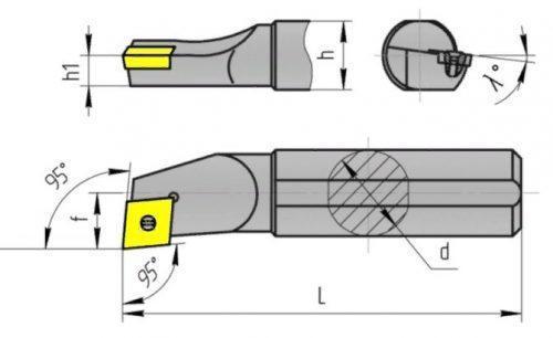Расточной резец: отверстие, материал изготовления и область применения