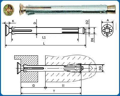Оконный рамный анкер: технологические особенности и материал изготовления
