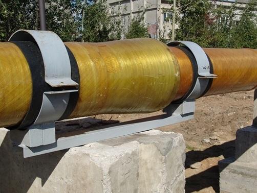 Описание и принцип действия скользящей опоры для трубопроводов