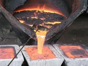 От чего зависит температура плавления металла в градусах?