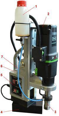 Магнитные сверлильные станки: сфера использования, типы приводов, крепление на металлической поверхности