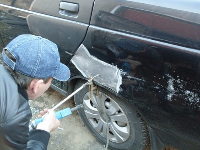 Обратный молоток для кузовного ремонта: особенности, изготовление своими руками и применение