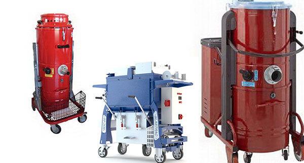 Производственные (технические) пылесосы в промышленности, их комплектация и функции