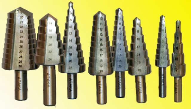 Ступенчатое сверло по металлу: особенности конструкции и область применения, стоимость