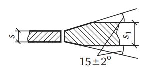 ГОСТ на сварные соединения: параметры сварных швов, указанные в таблицах стандарта