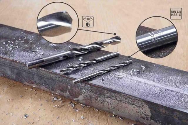 Какие лучше выбрать свёрла по металлу: классификация, размеры и диаметр, сферы применения