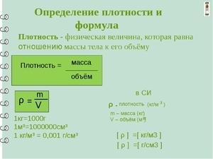 Плотность чугуна и удельный вес в кг: определение значения по таблице плотности металлов