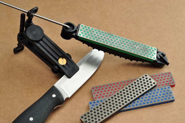 Заточка ножей: инструменты и виды станков, процесс заточки, рабочее место