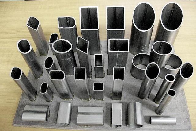 Типы и размеры профильных труб, расчет массы погонного метра трубы